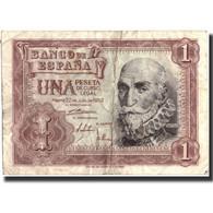 Billet, Espagne, 1 Peseta, 1953, 1953-07-22, Specimen, KM:144a, TB+ - [ 3] 1936-1975 : Régence De Franco