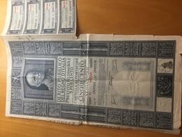 DEBITO PUBBLICO DEL REGNO D'ITALIA-CAPITALE NOMINALE DI LIRE 500 - Azioni & Titoli