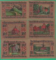 6 Billets - Deutschland - Leer Ostfriesland, 6 Scheine Von 1921 - Lokale Ausgaben