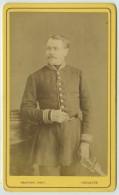 CDV Militaire Circa 1875 Provost à Toulouse . Virmontois à La Rochelle . Administration . Comptable ? - Photos