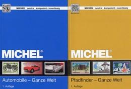 Motiv-Katalog MlCHEL Pfadfinder/Automobile 2015/2018 Neu 134€ Autos Scout/car Stamps Catalogue Topics Of The Worlds - Erstausgaben