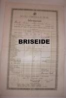 SCUOLE COMUNALI DI FIUME PAGELLA INFORMAZIONI ( RIJEKA REKA ) 1920 - Diplomi E Pagelle