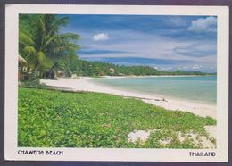 THAILAND Picture POST CARD POSTCARD - CHAWENG BEACH, Postal Used 1999 - Tailandia