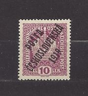 Czechoslovakia 1919 MNH ** Mi 43 Sc B5 Austrian Stamps Of 1916-18 Overprinted In POSTA CESKOSLOVENSKÁ Tschechoslowakei - Cecoslovacchia