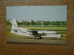Business Express Fokker F27-100 N141PM C/N 10114 - 1946-....: Moderne