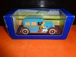 En Voiture -  Le Taxi De Tintin En Amérique - 1/43 Atlas - Hergé / Moulinsart 2005 - Tintin