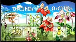 "Solomon Islands     ""Orchids""    Sheet Of 5   SC# 1188    MNH - Islas Salomón (1978-...)"