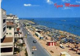 Igea Marina - Lungomare E Spiaggia - 40578 - Formato Grande Viaggiata Mancante Di Affrancatura – E 5 - Rimini