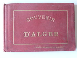 Souvenir D'Alger RARISSIME  Carnet .de 12 Photos Anciennes J. GEISER Photographe Rue BAB -AZOUN 7 13 Scans - Algiers