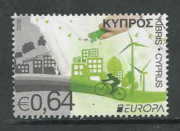 Cyprus, Yv 1360 Jaar 2016,   Gestempeld, Zie Scan - Cyprus (Republic)