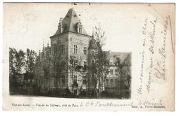 Ham-sur-Heure - Façade Du Château, Côté Parc - Circulée - Edit. A. Frère-Rodelet - 2 Scans - Ham-sur-Heure-Nalinnes