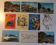Lotto 10 Cartoline  - Paesaggistiche Italia - Carnevale Bus Autobus Alpini Etc - Cartoline