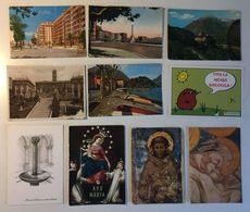 Lotto 10 Cartoline  - Paesaggistiche Italia - Palermo Napoli Storia Psotale Lotteria Di Merano Regno Etc - Cartoline