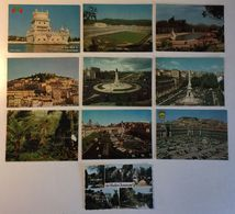 Lotto 10 Cartoline  - Paesaggistiche - Lisboa Portugal Etc - Cartoline