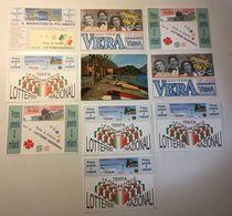 Lotto 10 Cartoline  - Lotteria Nazionale - Gioco - Cartoline