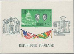 Togo 1962 J F Kennedy Souvenir Sheet Unmounted Mint. - Togo (1960-...)