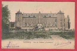 """Lembecq - Vue De Château """" Procession """"  -1919 ( Verso Zien ) - Halle"""