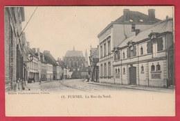 Veurne / Furnes - La Rue Du Nord ( Verso Zien ) - Veurne