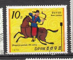 Corée, Korea, Tir à L'arc, Archery, Cheval, Horse - Tiro Al Arco
