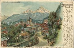 12320569 METEOR Hold To Light Nr. 616 Berchtesgaden Nonnenthal Litho Besonderhei - Halt Gegen Das Licht/Durchscheink.