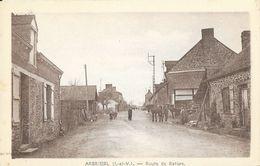 Arbrissel (Ille-et-Vilaine) - Route De Retiers - Photo Touin-Guiné - Carte Non Circulée - Altri Comuni