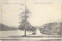 Paimpont (Ille-et-Vilaine) - Etang Des Forges Et Route De La Cantine - Edition C. Mignot - Paimpont
