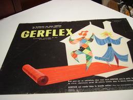 ANCIENNE PUBLICITE REVETEMENT GERFLEX 1950 - Publicité