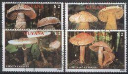 GUYANA 1989 Mi-Nr. 2480/83 O Used - Pilze