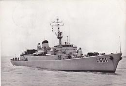A961 Zinnia, Belgian Navy Ship (pk45800) - Guerre