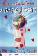 CPM - E - FIGHT AIDS MONACO - VILLA PASTEUR - 11 BD CHARLES III - UN PETIT PAS POUR L'HOMME UN GRAND PAS POUR L'HUMANITE - Santé