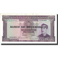 Billet, Mozambique, 500 Escudos, 1967, 1967-03-22, KM:110a, SPL - Mozambique