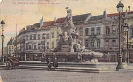Brussel, Bruxelles, Fontaine De Brouckère (pk45805) - Monuments, édifices