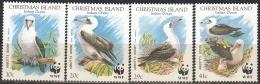 Christmas Island 1990 Michel 303 - 306 Neuf ** Cote (2005) 9.70 Euro WWF Oiseau Fou D'Abbott - Christmas Island