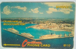 10CBDA  Cruiseliners B$10 - Barbados