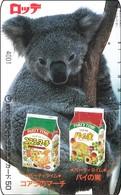 Japan Phonecard Koala Bär Australia Rel. - Telefonkarten