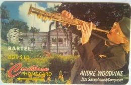125CBDC Andre Woodvine  $10 No Slash C/n - Barbades