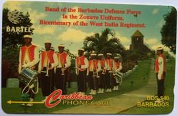 92CBDB Defense Force Band B$40 - Barbados