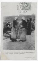 ANGOULEME EN 1907 - JOUR DE MARCHE - PERSONNAGES  - BEAU CACHET - CPA VOYAGEE - Angouleme