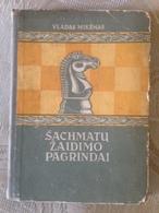 Lithuania Book Chess 1952 Rare Book - Libri, Riviste, Fumetti