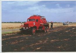 La Chapelle Du Noyer : Camion Citerne Feux De Feus De Forêt - Sapeur Pompier - Feuerwehr