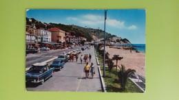 Cartolina ANDORA - SV - Viaggiata - Postcard - Lungomare E Via Aurelia - Savona