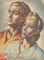 Calendrier Mural ( Grand Format ) De La J.O.C. De 1946 - Avec Des Reproductions De Dessins De CH Ern. SMETS - Calendriers
