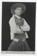 SCAER - N° 157 - COSTUMES BRETONS - JEUNE HOMME - CHUPEN BLANC - CPA NON VOYAGEE - France