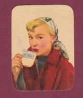 270418  CALENDRIER Année 1954 Petit Format Pub VIANDOX Pin Up - Calendriers