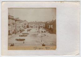 TORINO   PARTE  DI  FOTOGRAFIA  SU  CATONCINO   PARATA  DEL  2  GIUGNO  1901  2 SCAN  (NUOVA) - Places & Squares