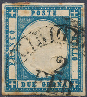 ITALIAN STATES NEAPOLITAN PROVINCES 1861  2gr Used - Naples