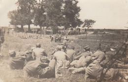 Prisonniers Allemands 1914 - Carte Photo - Kriegsgefangener - Guerre 1914-18