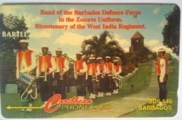16CBDB Defense Force Band B$40 - Barbados