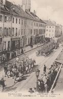 Défilé Des Troupes 1914 Dans Une Ville Non Précisée - édition Thomas Cliché CD - Guerre 1914-18