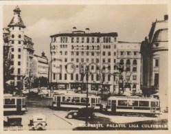Romania - Bucuresti - Palatul Liga Culturala - Tram - Photo - 90x70mm - Places